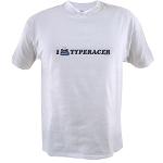 I TypeRacer T-shirt