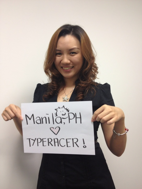 Racer Catskratch loves Typeracer from the Philippines!