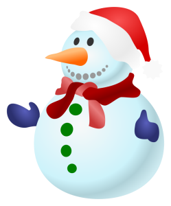This snowman looks about as happy as some of our users will be about doing some races over the holidays!